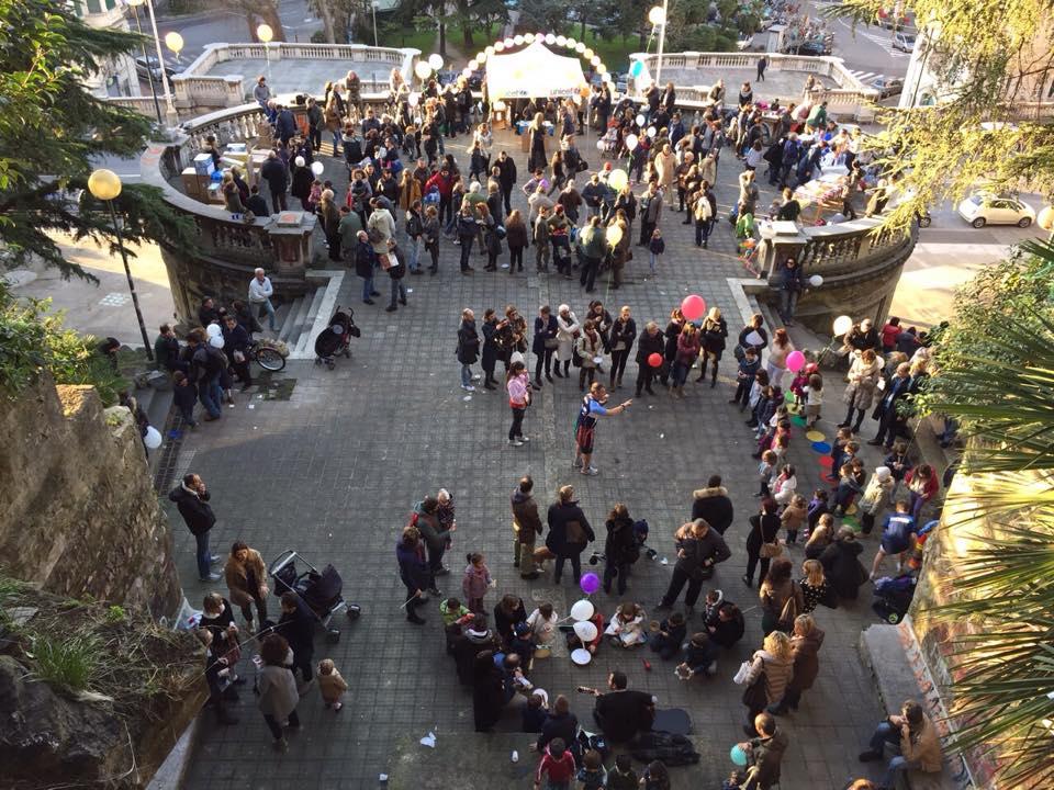 #riprendiamocigenova, domani tutti a Scalinata Borghese