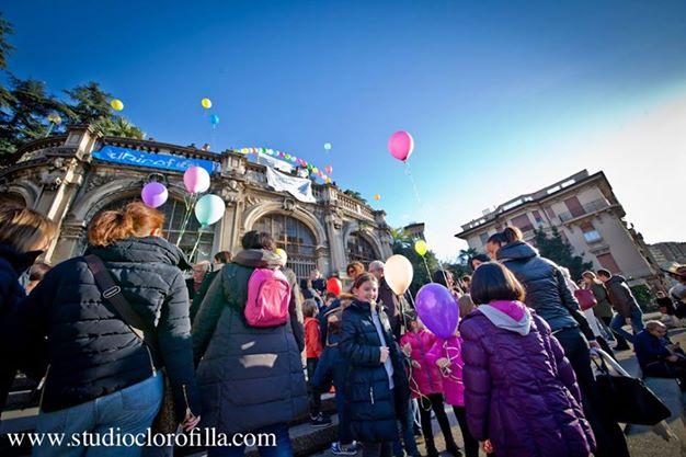 Un flash mob a Scalinata Borghese per riprendersi Genova