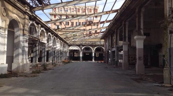 Ex Mercato di Corso Sardegna: il sopralluogo