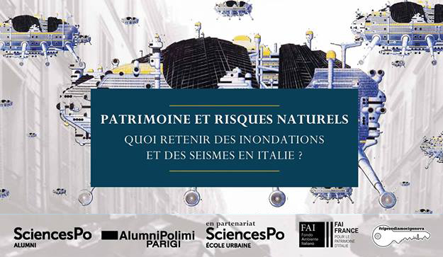 Patrimoine & Risques Naturels: quoi retenir des inondations et séismes en Italie?