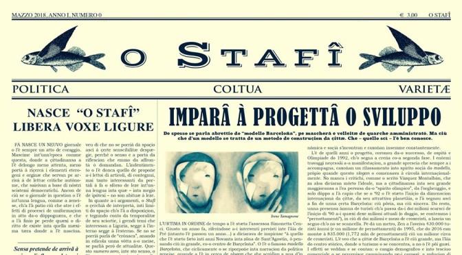 giornale O STAFÎ – la libera voxe ligure